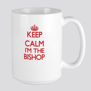 Keep calm I'm the Bishop Mugs