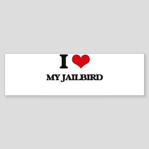 my jailbird Bumper Sticker