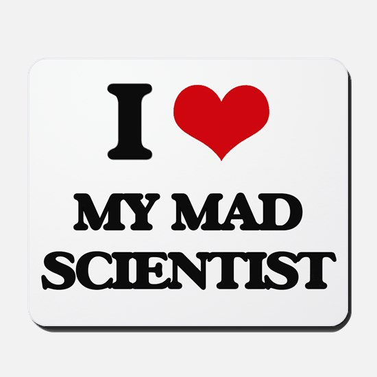 my mad scientist Mousepad