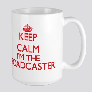 Keep calm I'm the Broadcaster Mugs