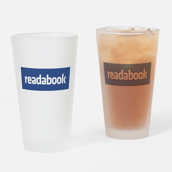 Read a book Drinking Glass