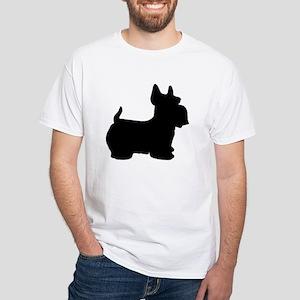 SCOTTY DOG White T-Shirt