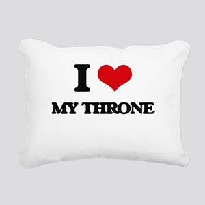 my throne Rectangular Canvas Pillow