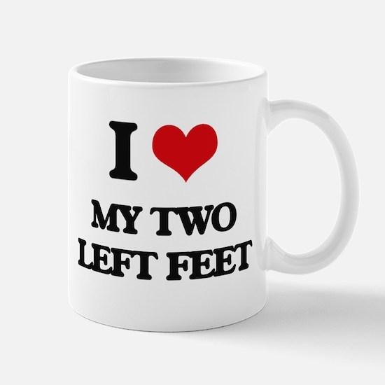 my two left feet Mugs