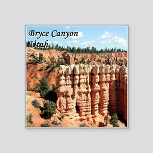 Bryce Canyon, Utah, USA (with caption) Sticker