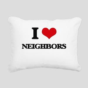 neighbors Rectangular Canvas Pillow