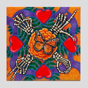 Mariposa de Amor Tile Coaster