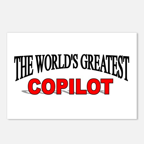 """""""The World's Greatest Copilot"""" Postcards (Package"""