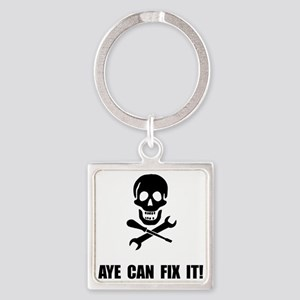 Pirate Fix It Skull Keychains