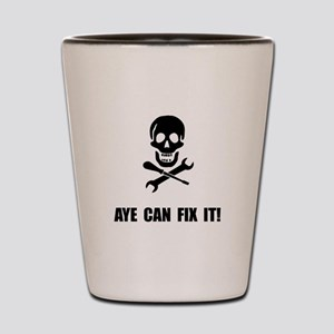 Pirate Fix It Skull Shot Glass