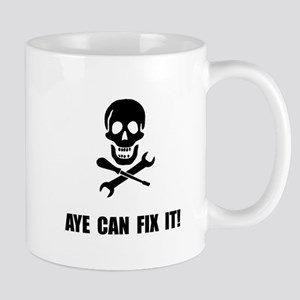 Pirate Fix It Skull Mugs