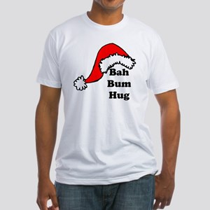 Bah Bum Hug Fitted T-Shirt