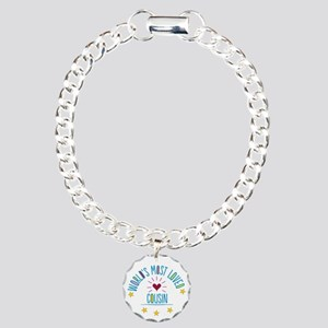 World S Most Loved Cousi Charm Bracelet One