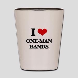 one-man bands Shot Glass
