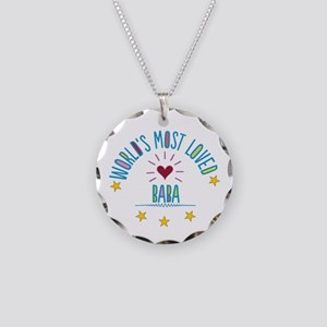 World's Most Loved Baba Necklace Circle Charm