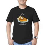 Pie Addict Men's Fitted T-Shirt (dark)