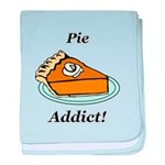 Pie Addict baby blanket
