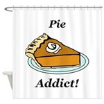 Pie Addict Shower Curtain