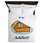 Pie Addict Queen Duvet