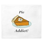 Pie Addict King Duvet