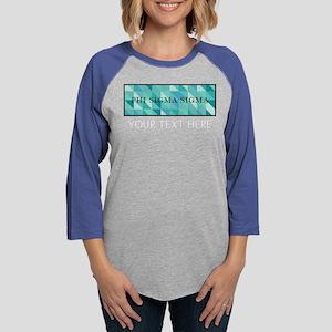 Phi Sigma Sigma Geometric Pers Womens Baseball Tee