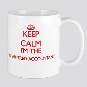 Keep calm I'm the Chartered Accountant Mugs