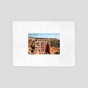 Bryce Canyon, Utah, USA (with capti 5'x7'Area Rug