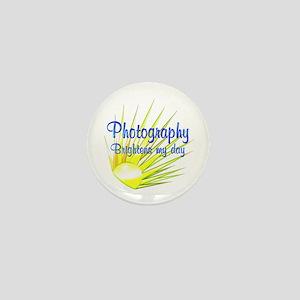Photography Brightens Mini Button