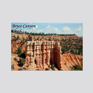 Bryce Canyon, Utah, USA (with caption) Magnets