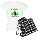 I Love Green Beer Women's Light Pajamas