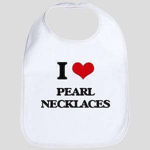 pearl necklaces Bib