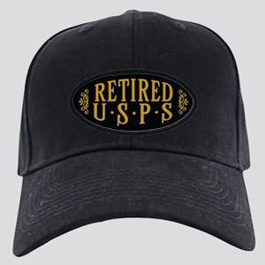 Retired USPS Black Cap with Patch