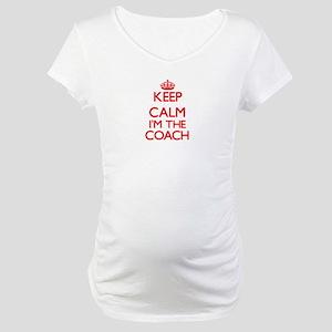Keep calm I'm the Coach Maternity T-Shirt