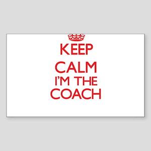 Keep calm I'm the Coach Sticker