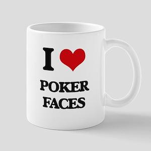 poker faces Mugs