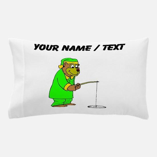 Custom Bear Ice Fishing Pillow Case