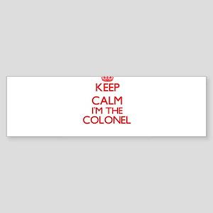 Keep calm I'm the Colonel Bumper Sticker