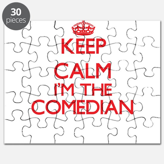 Keep calm I'm the Comedian Puzzle