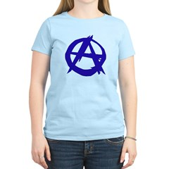 Anarchy-Blue Women's Light T-Shirt