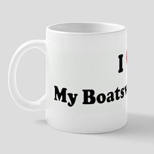 I Love My Boatswains Mate Mug