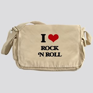 rock 'n roll Messenger Bag