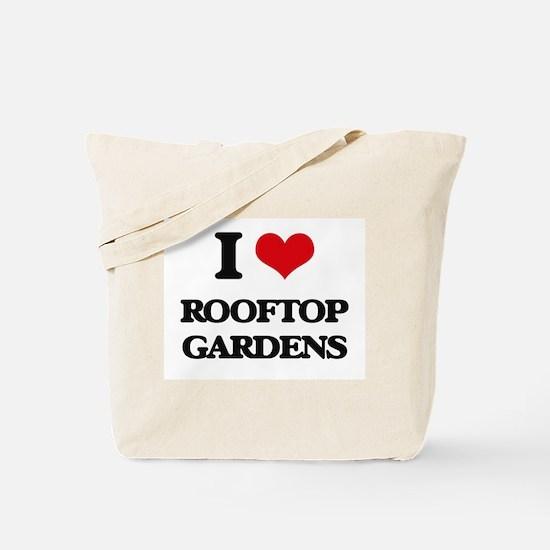 rooftop gardens Tote Bag