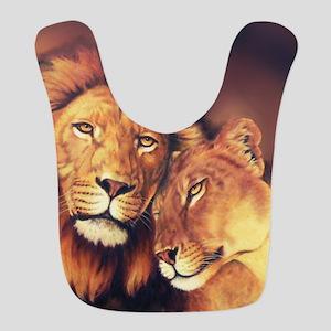 Lions Soulmates Bib