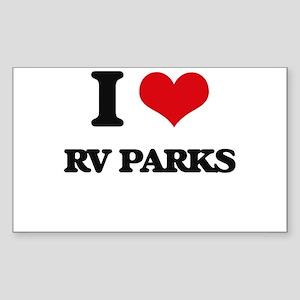 rv parks Sticker