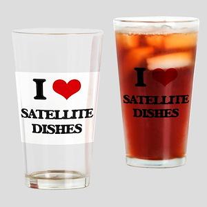 satellite dishes Drinking Glass