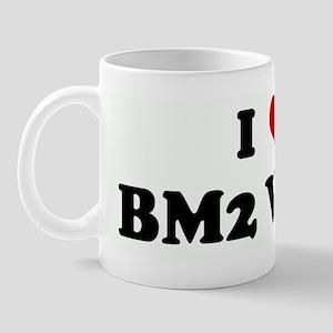 I Love BM2 Welsh Mug