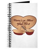 Baking personalized Journals & Spiral Notebooks