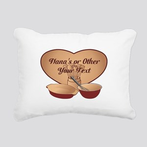 Personalized Cooking Rectangular Canvas Pillow