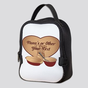 Personalized Cooking Neoprene Lunch Bag