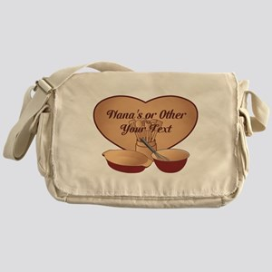Personalized Cooking Messenger Bag